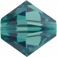 6mm SWAROVSKI® ELEMENTS Blue Zircon Xilion Beads - 25 crystals for jewellery making, beadwork and craft